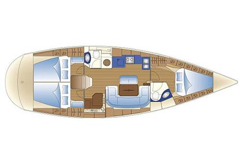 Bavaria 42 cruiser charter Hrvatska