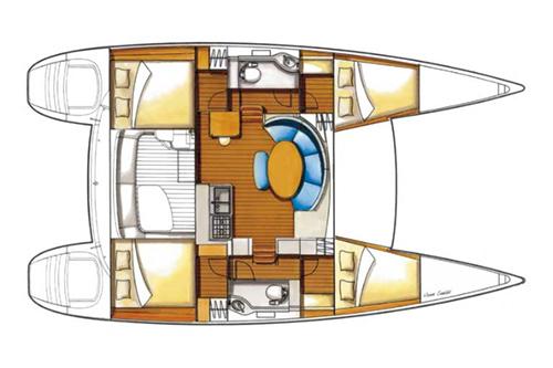 Lagoon 380 charter Hrvatska