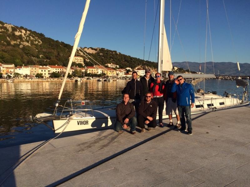 Skipper treninzi na otoku Krku.