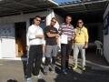1st place - boat Bura with the crew Boris Cvetkovic, Emil Djukic, skipper Miro Volaric i Josip Spoljarevic