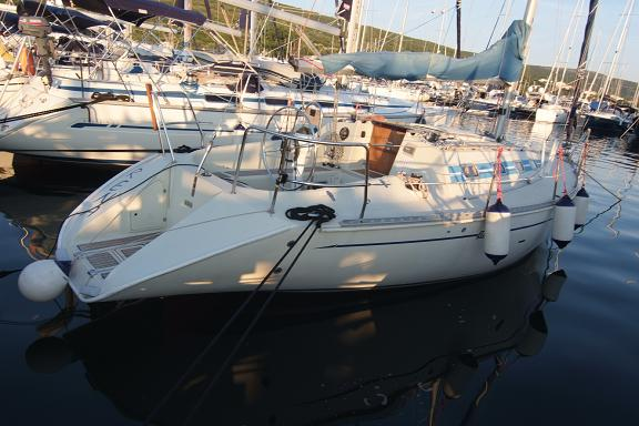 Our first boat, the legendary Elan 331 - Irena