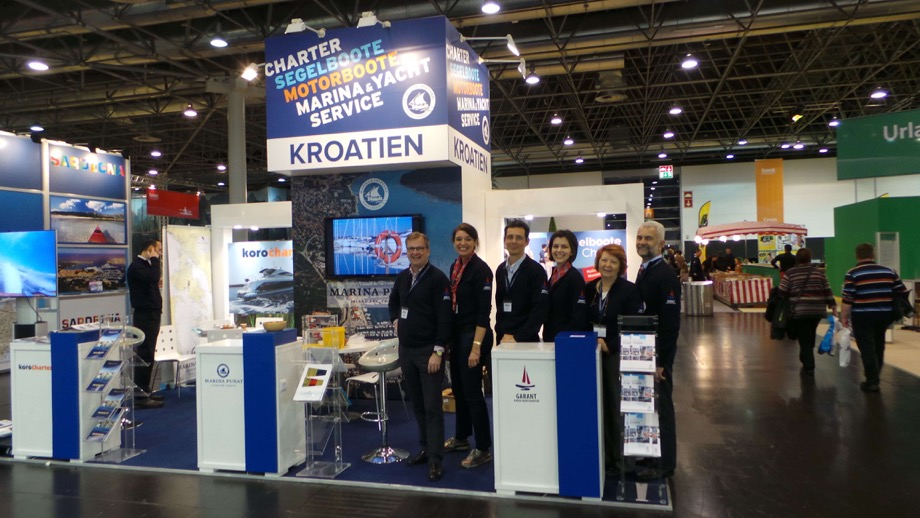 Garant Charter team on Dusseldorf boat show 2014