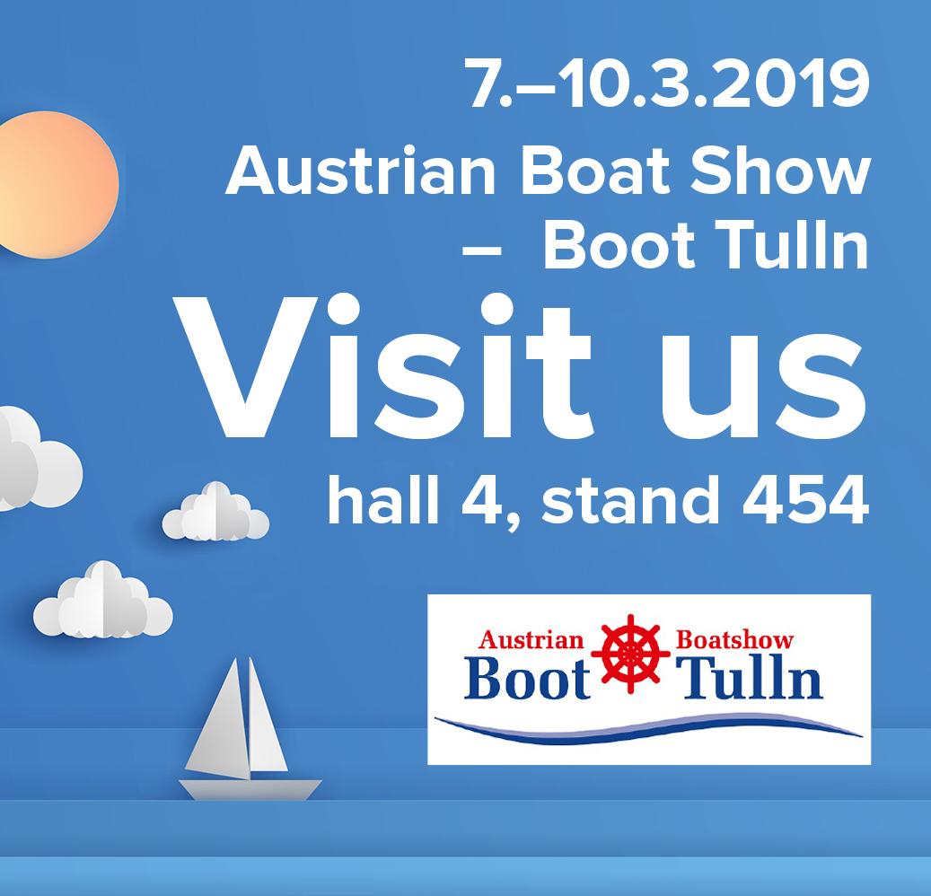 Tulln boat show 2019